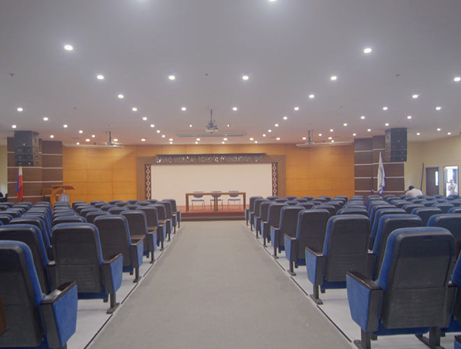 Davao Medical school auditorium