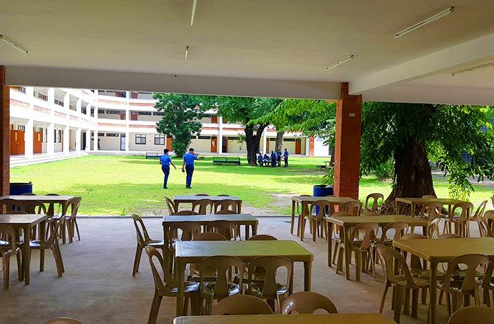 AUF canteen